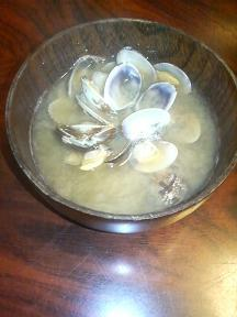 20120425-家でも料理-潮干狩りの成果を料理-味噌汁.jpeg