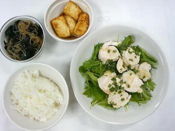 20130605-会社で料理-茹鶏のネギ油サラダと簡単揚げ出汁豆腐+明日の煮玉子-12-出来上がり.jpeg