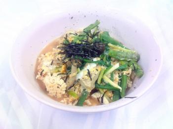 20150918-会社で料理-豆腐ごはんを使った親子丼-07-出来上がり.jpeg